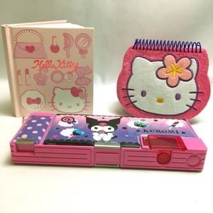 Lot of Hello Kitty Journaling Supplies